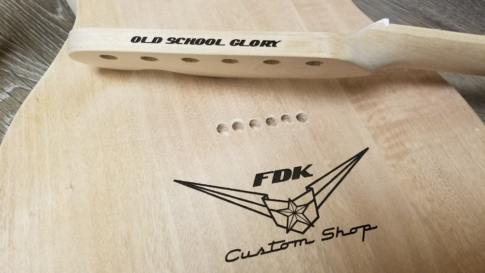 Copy of Custom Guitar Engraving - Personalized Guitar - Engraved Musical instruments - Personalized Musical instruments - Custom Projects - Engrave It Houston