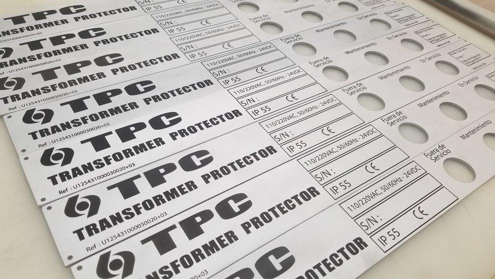 Copy of Metalphoto Tags - Aluminum Tags - Metalphoto Plates - Aluminum Plates - Industrial Metalphoto - Industrial Plates - Industrial Tags