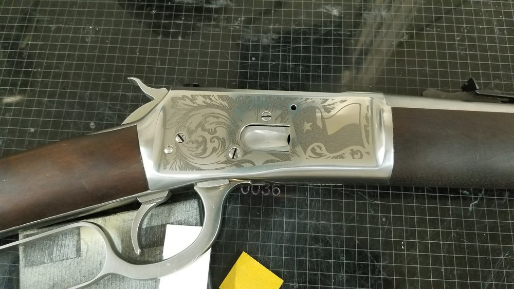 Copy of Engraved Rifle - Personalized Rifle - Custom Rifle - Firearm Engraving Projects - Engrave It Houston