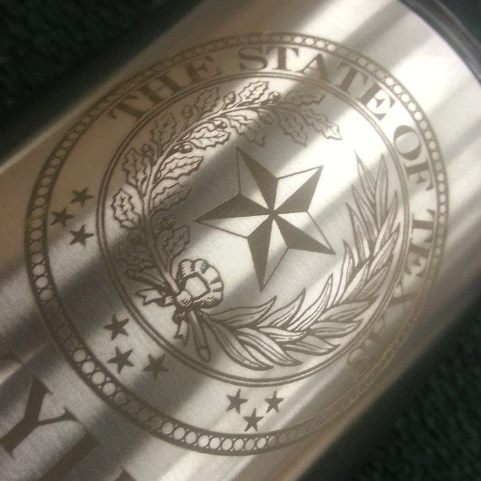 Engraved Yeti Cup
