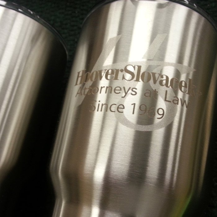Laser Engraved Ozark Cups