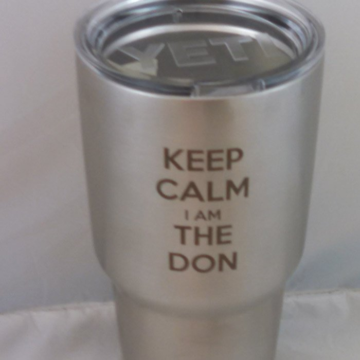 Copy of Copy of Laser Engraved Stainless Steel Tumblers