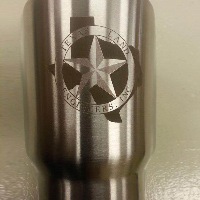 Laser Engraved Stainless Steel Tumbler - Personalized Stainless Steel Tumbler - Custom Stainless Steel Tumbler - Engraved Tumbler - Engraved Yeti - Engrave It Houston