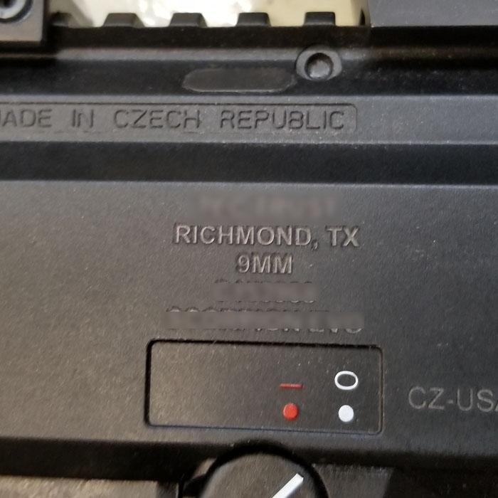 Firearm Trust Engraving