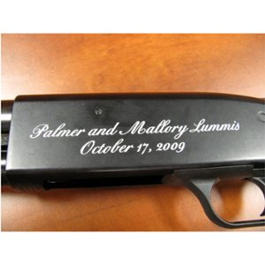 Engraved Shotgun - Personalized Shotgun - Custom Shotgun - Firearm Engraving Projects - Engrave It Houston