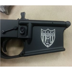 Engraved Assault Rifle - Personalized Assault Rifle - Custom Assault Rifle - Firearm Engraving Projects - Engrave It Houston