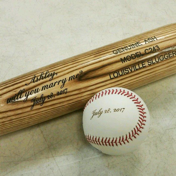 Copy of Engraved Baseball Bat - Personalized Baseball Bat - Custom Baseball Bat - Engraved Baseball - Personalized Baseball - Engraved Sports Equipment - Engraved Baseball Equipment