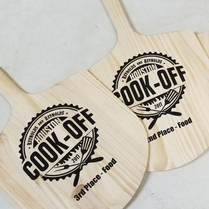 Custom Pizza Paddles - Personalized Pizza Paddles - Custom Projects - Engrave It Houston