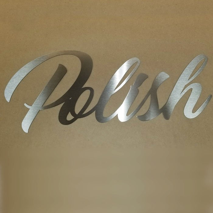 Copy of Metal Sign - Metal Wall Art - Stainless Steel Sign - Stainless Steel Wall Art - Engrave It Houston