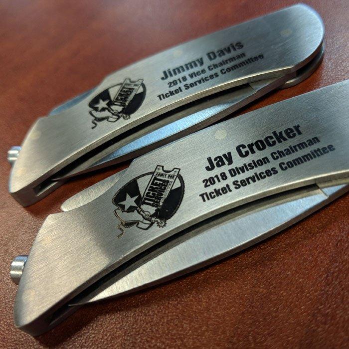 Knife Engraving - Custom Knife Engraving - Personalized Knives - Custom Gifts - Personalized Gifts - Groomsman Gifts - Custom Groomsman Gifts