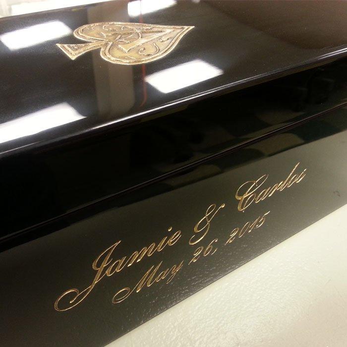 Copy of Custom Display Box - Custom Display Case - Personalized Display Case - Personalized Gift Box - Custom Gift Box - Custom Display Case - Engraved Gift Box - Engrave It Houston