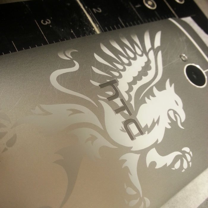 Engraved Phone - Custom Phone - Personalized Phone - Electronic Engraving - Electronic Personalization - Custom Electronics - Engrave It Houston