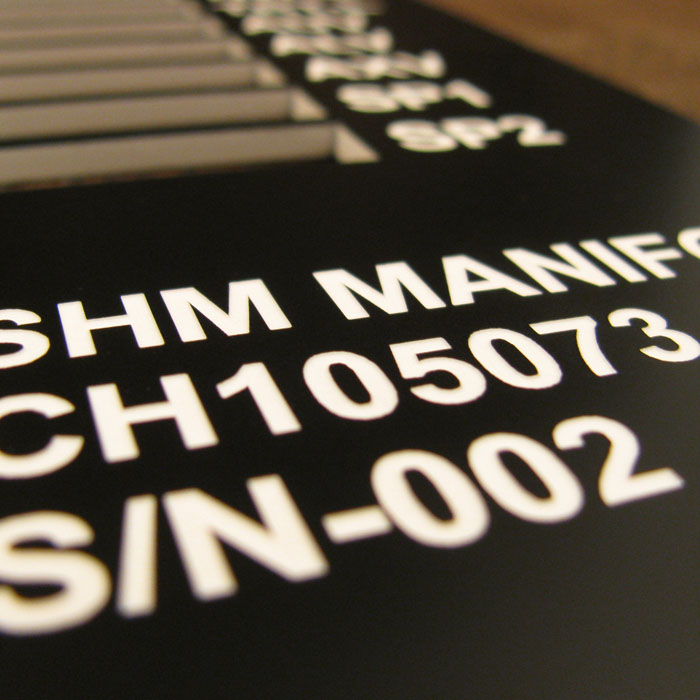 Copy of Plastic Plates - Plastic Tags - Industrial Plastic - Industrial Plastic Tags - Phenolic Tags - Engraved Tags