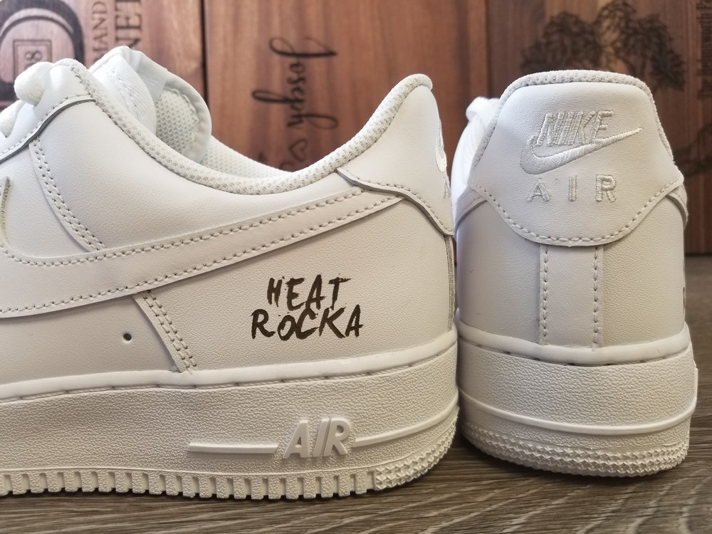 Copy of Engraved Leather Shoes - Personalized Leather Shoes - Custom Leather Shoes - Engraved Nikes - Custom Nikes - Personalized Nikes - Engrave It Houston