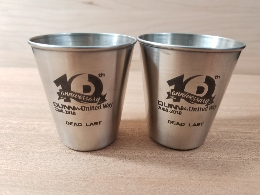 Engraved Shot Glasses - Personalized Shot Glasses - Custom Shot Glasses - Drinkware Engraving - Personalized Drinkware - Custom Projects - Engrave It Houston