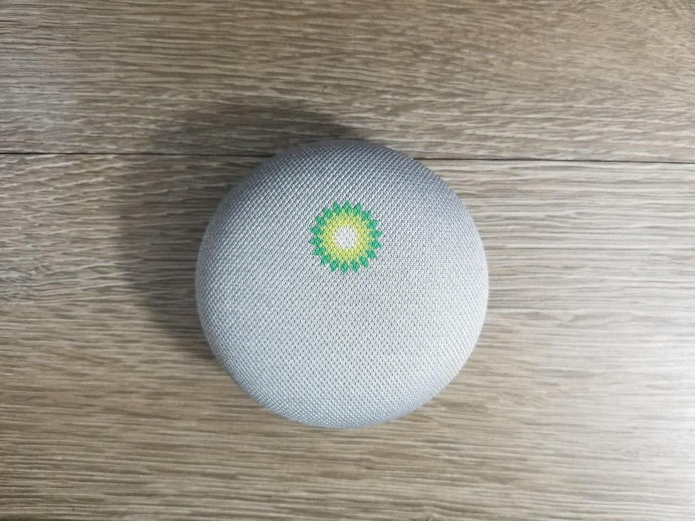 Branded Google Home Mini