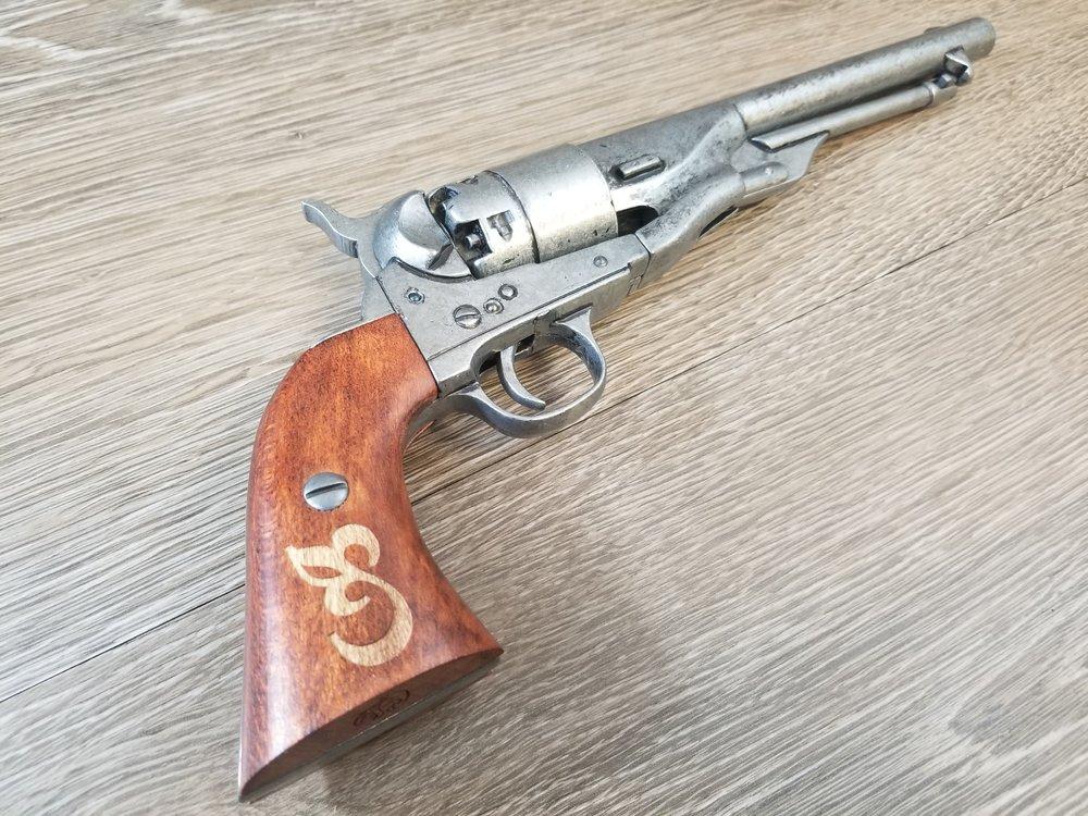 Laser Engraved Pistol Grip - Engrave It Houston
