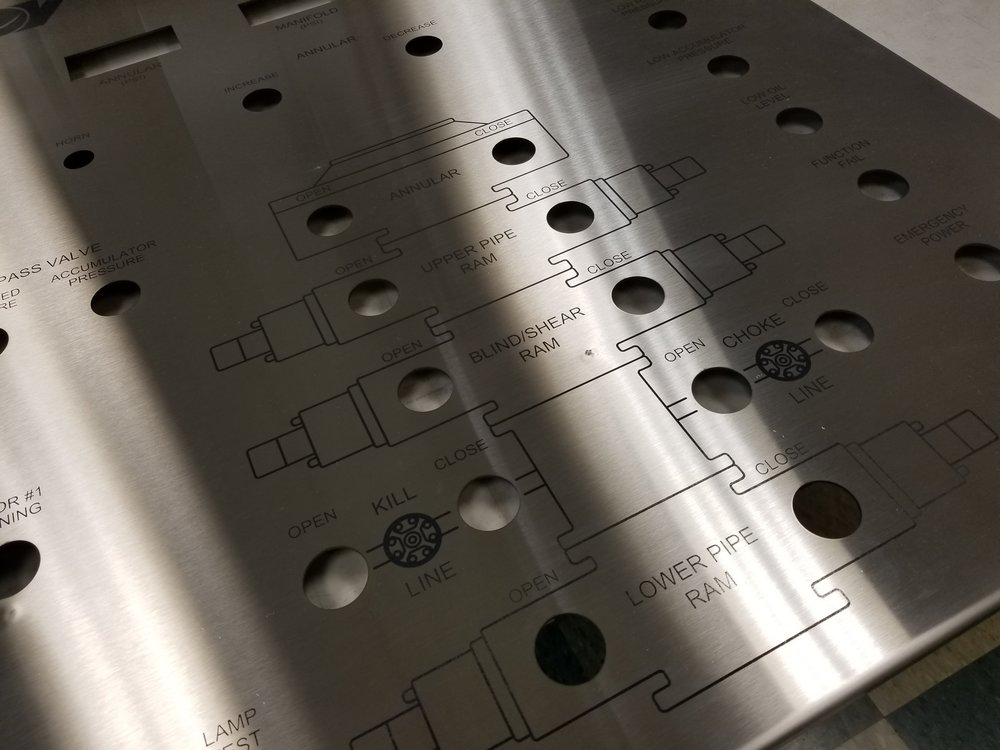 Industrial Projects & Services from Engrave It Houston