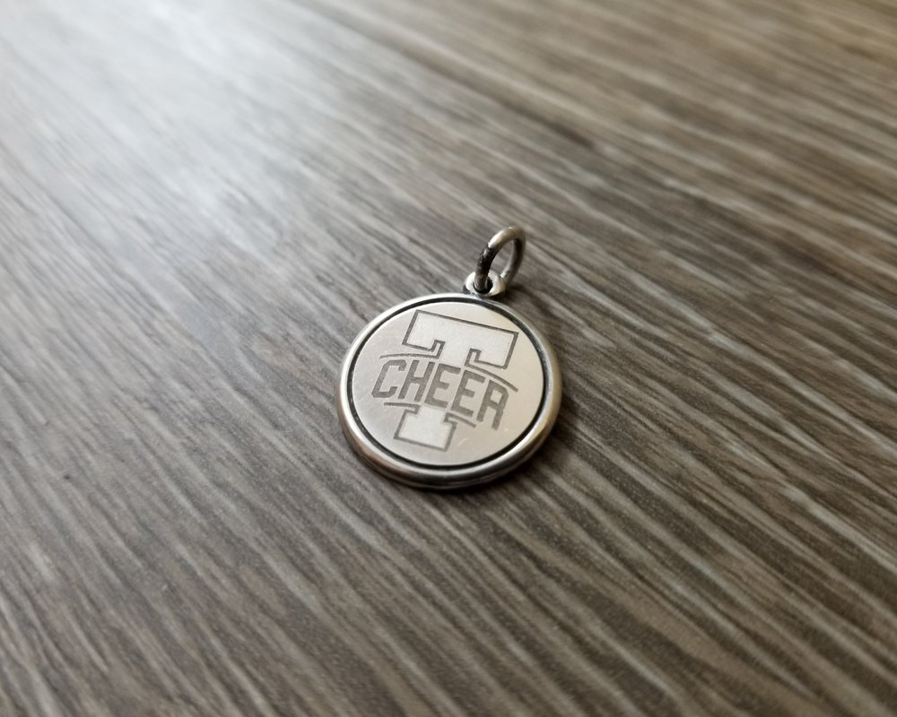 Custom Engraved charms/pendants - Have your design or text laser engraved, marked, or etched on charms for bracelets and necklaces of all shapes and sizes.