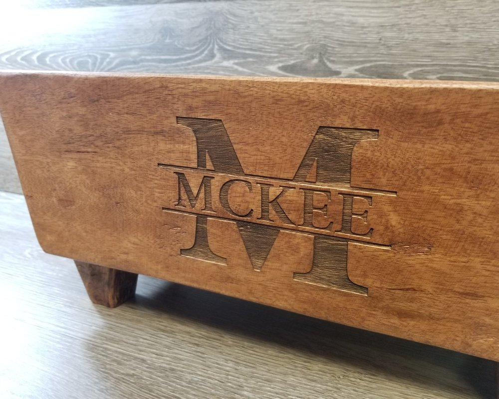 Personalized Wedding Gifts - Have your design or message laser engraved, marked, etched, or direct printed onto just about anything. Personalize your gift to the happy couple and make it perfect.