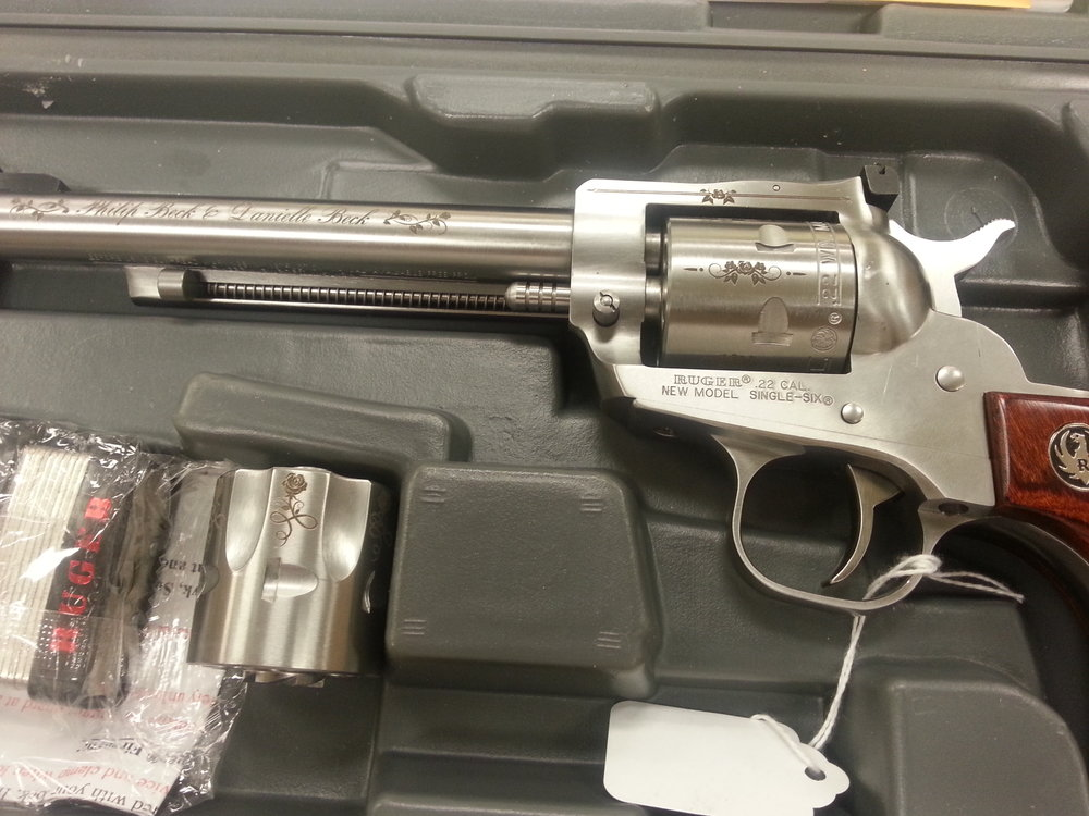 Custom Engraved Revolver - Personalized Revolver Engraving - Firearm Projects from Engrave It Houston