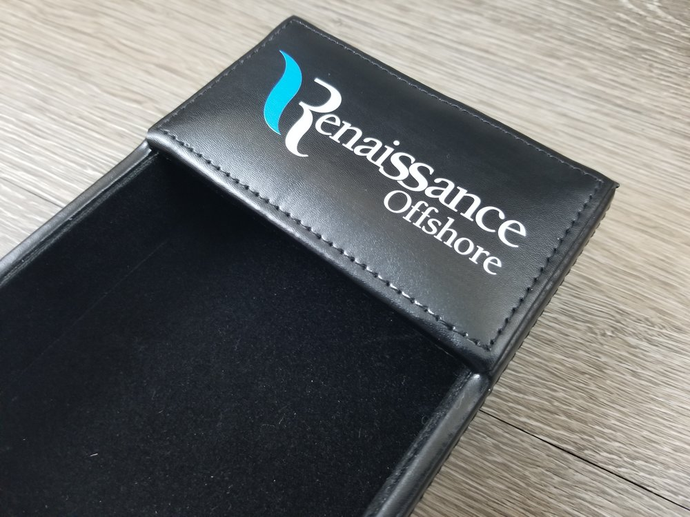 Custom Branded Office Supplies - Branded Marketing Giveaways - Branded Event Swag - Corporate Identity Projects - Branding Projects from Engrave It Houston