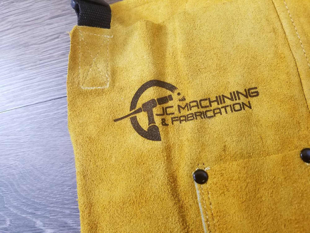 Branded Apron - Branded Apparel - Branded Equipment - Branded Marketing Giveaways - Branded Marketing Material - Branded Event Swag - Corporate Identity Projects - Branding Projects
