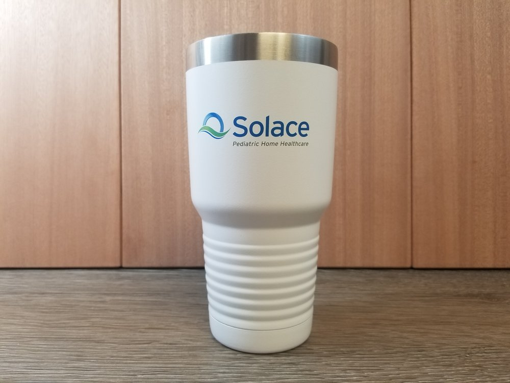 Branded Rtic Tumbler - Branded Marketing Giveaways - Branded Marketing Material - Branded Event Swag - Corporate Identity Projects - Branding Projects from Engrave It Houston