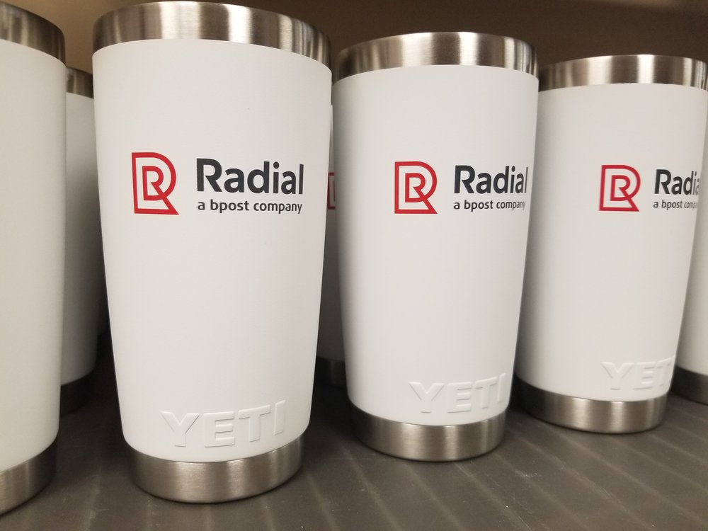 Branded Yeti Cups - Branded Marketing Giveaways - Branded Marketing Material - Branded Event Swag - Corporate Identity Projects - Branding Projects from Engrave It Houston
