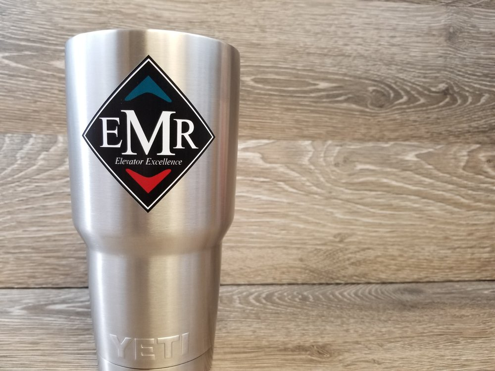 Branded Stainless Steel Cup - Branded Marketing Giveaways - Branded Marketing Material - Branded Event Swag - Corporate Identity Projects - Branding Projects from Engrave It Houston