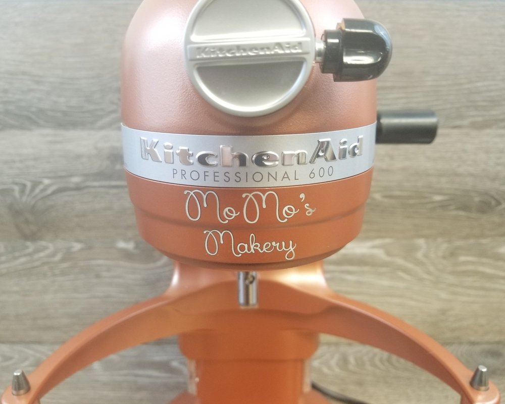Personalized Kitchen Equipment - Have your design or message laser engraved, marked, etched, or direct printed onto an array of kitchen equipment and home goods.
