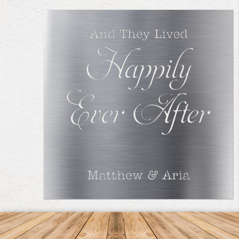 Metal Wall Art - Metal Signs - Stainless Steel Wall Art - Stainless Steel Signs