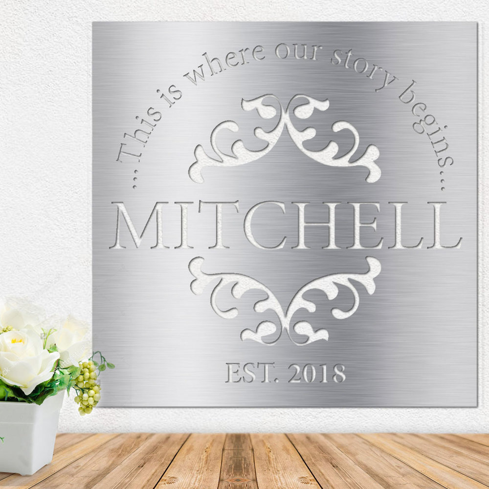Metal Wall Art - Stainless Steel Wall Art - Metal Signs - Stainless Steel Signs
