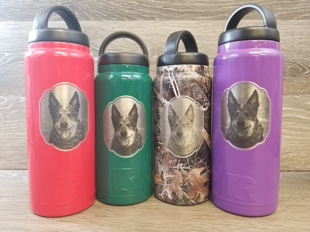 Copy of Engraved Water Bottles - Powder Coated Water Bottles - Personalized Water Bottles - Custom Water Bottles - Water Bottle Engraving - Yeti Water Bottles
