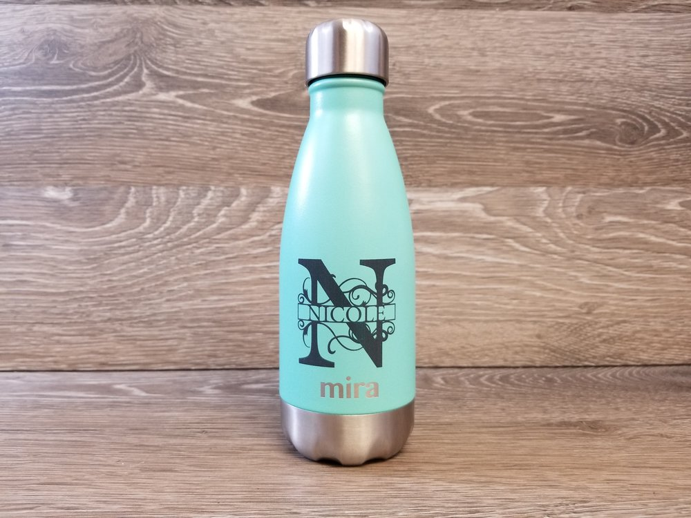 Personalized Water Bottle - Print on Water Bottle - Stainless Steel Water Bottle -Metal Water Bottle - Personalized Metal Water Bottle