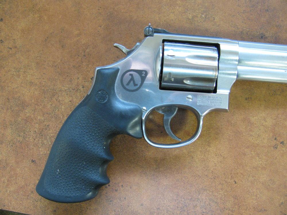 Engraved Revolver - Personalized Revolver - Custom Revolver - Gun Engraving - Pistol Engraving - Personalized Pistol - Firearm Engraving Projects - Engrave It Houston
