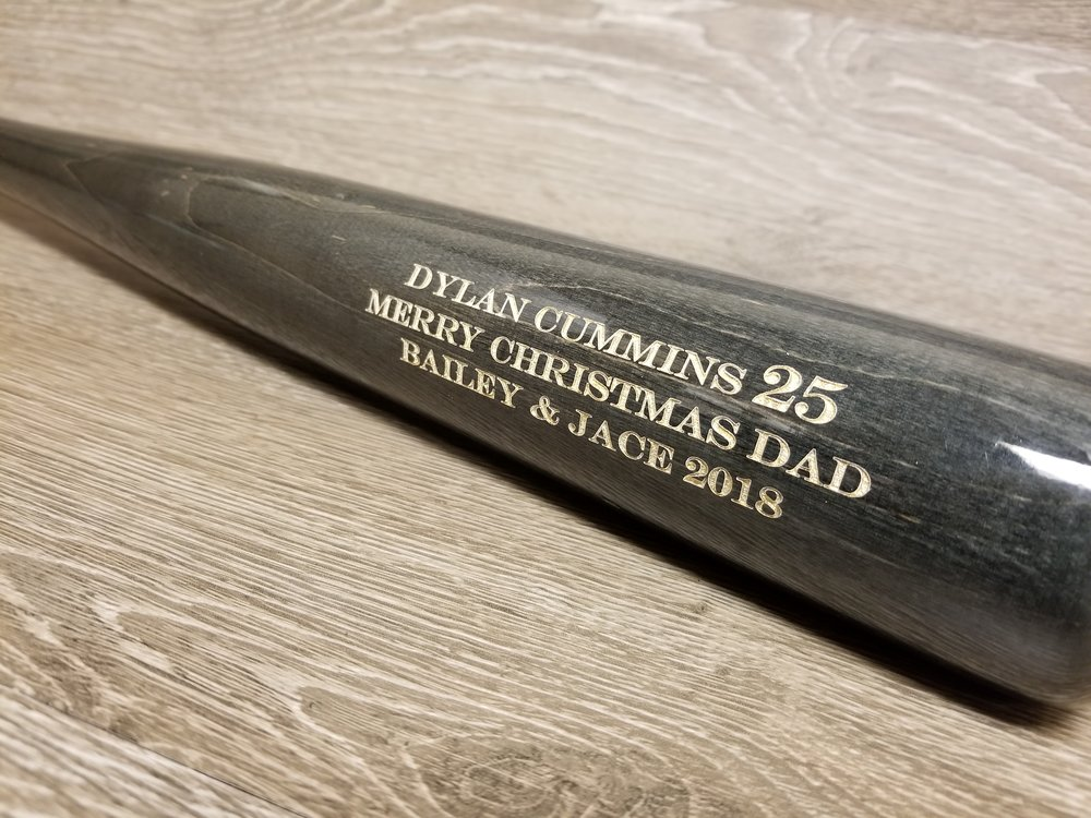 Copy of Engraved Baseball Bat - Personalized Baseball Bat - Custom Baseball Bat - Engraved Baseball - Personalized Baseball - Engraved Sports Equipment - Engraved Baseball Equipment