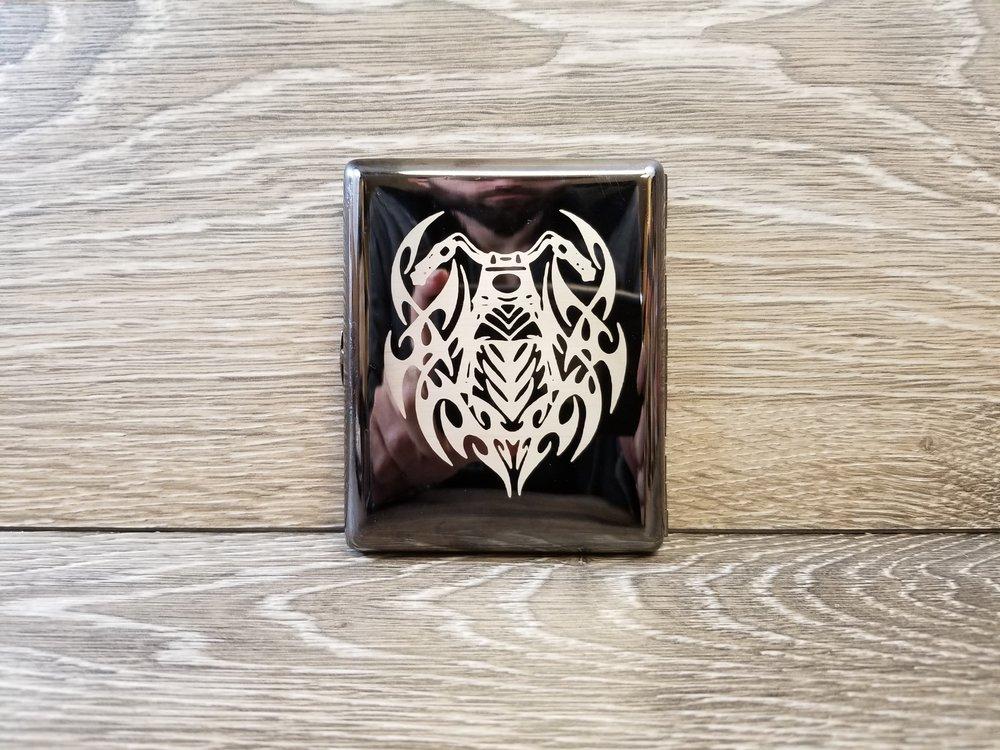 Engraved Cigarette Case - Personalized Cigarette Case - Custom Cigarette Case - Groomsman Gifts - Custom Gifts - Personalized Gifts - Engrave It Houston