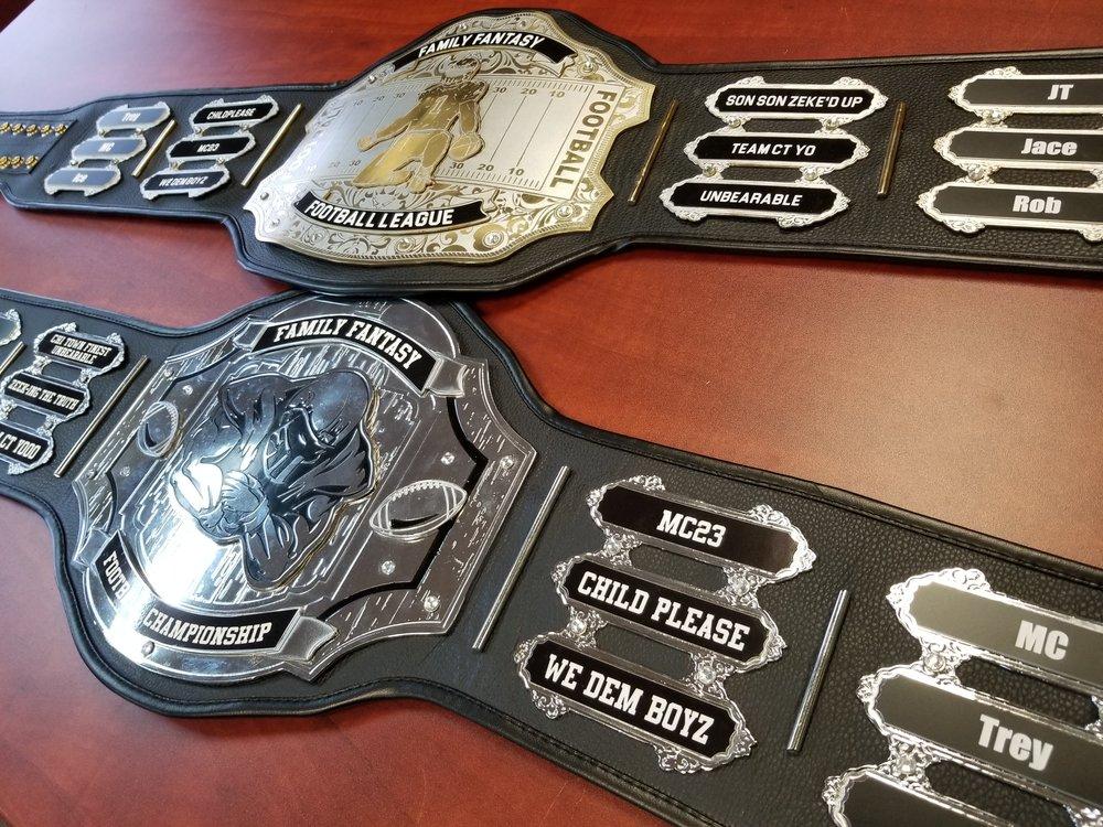 Fantasy Football Trophy - Custom Trophy - Custom Award - Personalized Trophy - Personalized Award