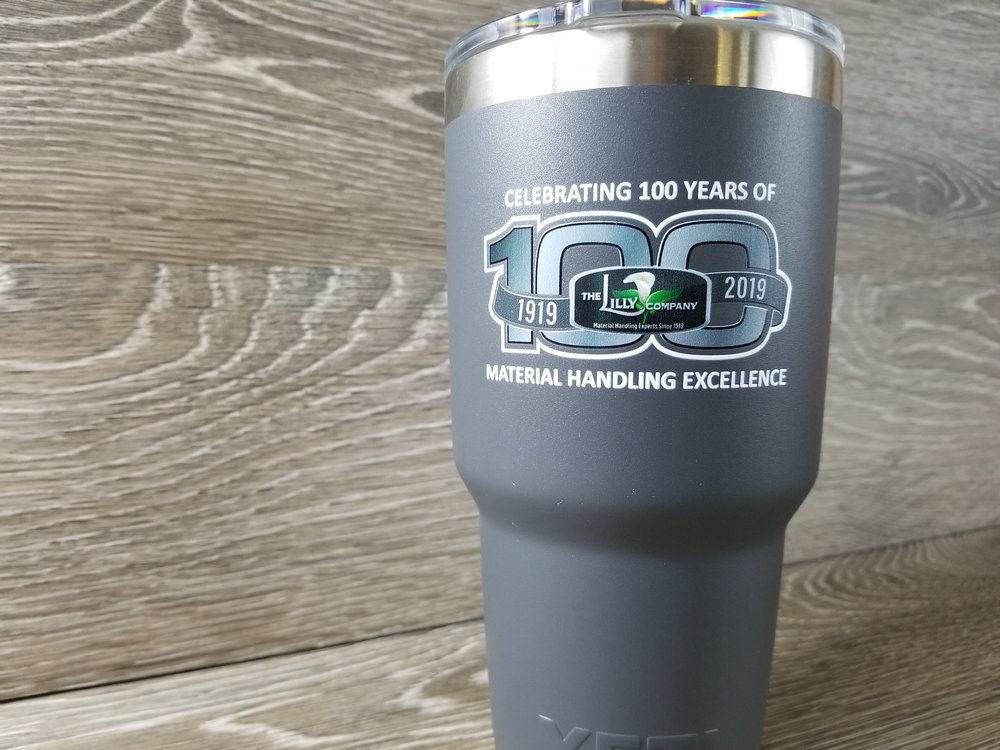 Branded Yeti Tumbler - Branded Tumbler - Custom Printed Tumbler - Printed Yeti - Branded Stainless Steel Tumbler - Engrave It Houston