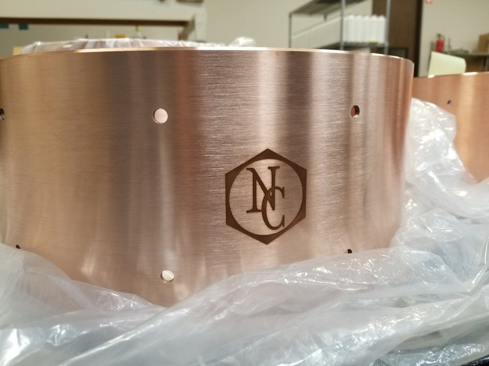 Custom Branded Engraved Drum Shell - Engraved Drum Shell - Engraved Snare Drum - Branded Snare Drum - Branding Projects from Engrave It Houston