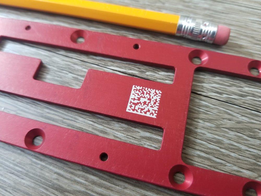 QR Code Printing - Industrial QR Codes - QR Code Engraving - Printed QR Codes - Industrial QR Code Printing - Engrave It Houston