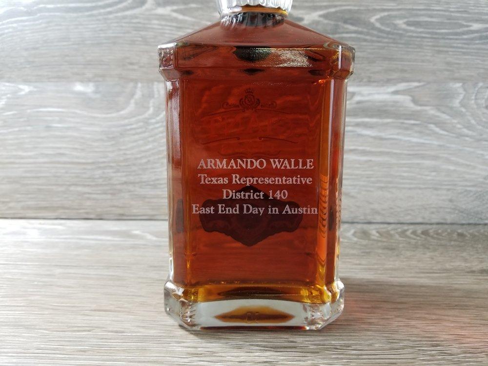 Custom Engraved Liquor Bottle - Engraved Alcohol Bottle - Personalized Liquor Bottle - Personalized Alcohol Bottle - Personalized Bourbon - Personalized Bottle - Engrave It Houston