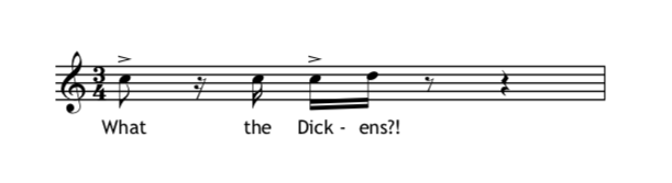 The 'Charles Dickens' theme
