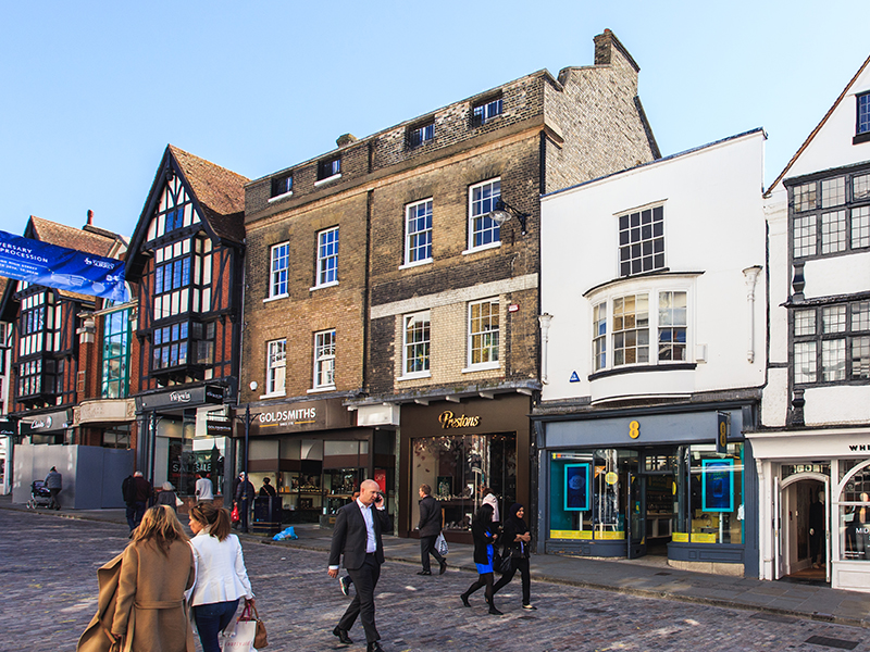 92-94 High Street, Guildford   Acquired - January 2017 Acquisition Cost - £8.1m Size - 5,293 sq. ft.