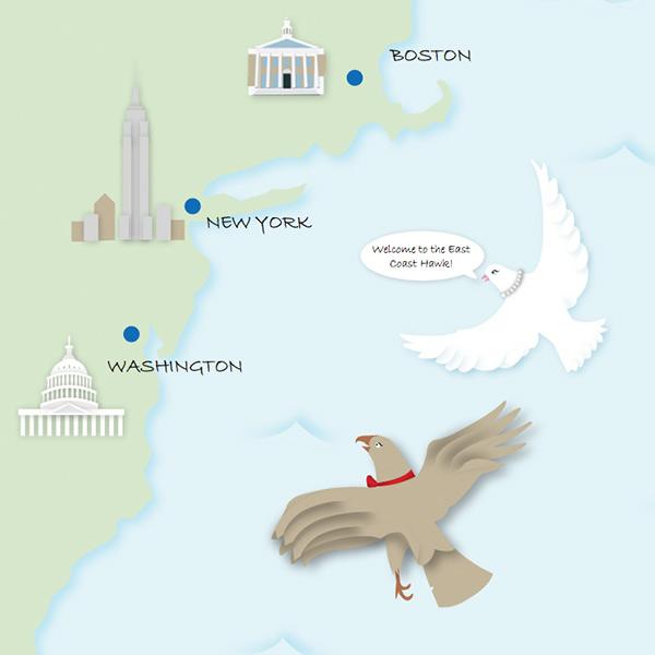 The American East Coast 2011 -
