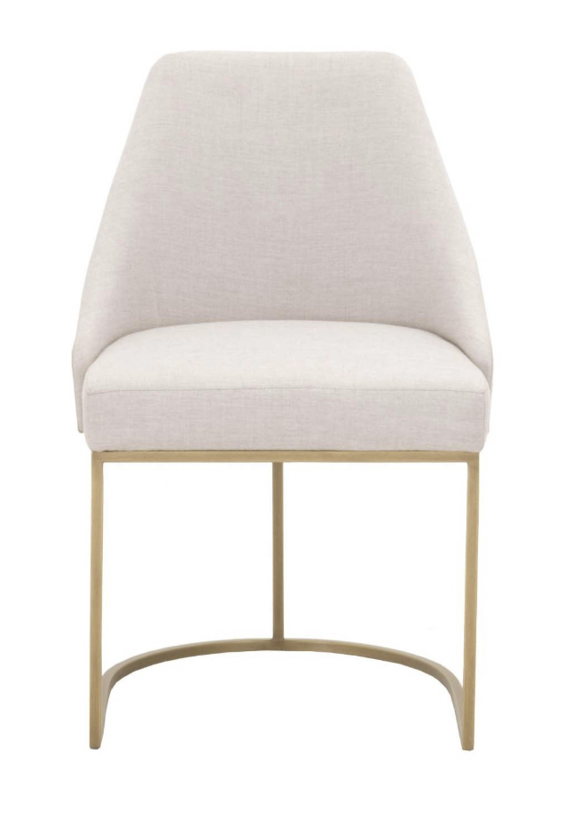 Candelabra Home  Parissa Dining Chair in Sunbrella Fabric