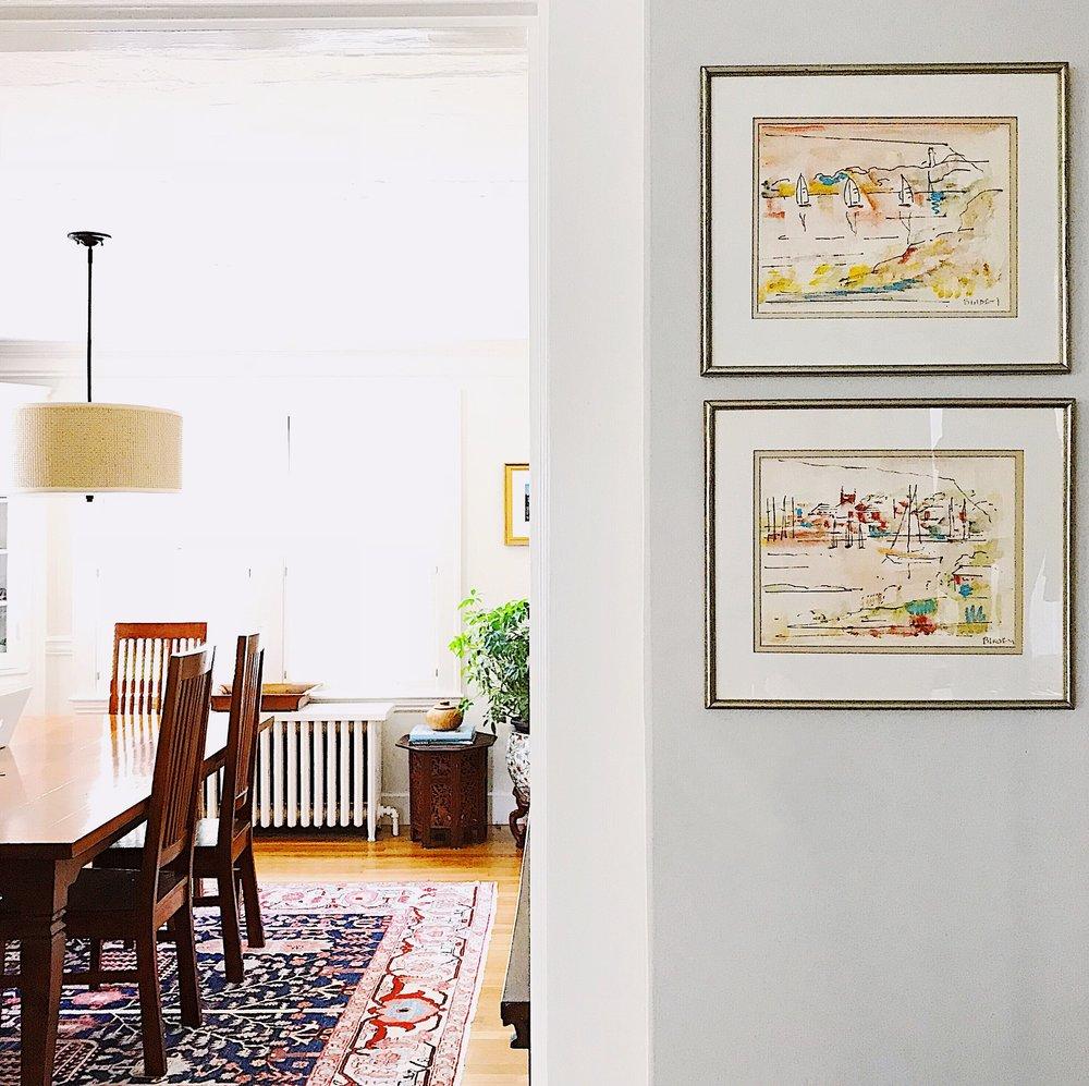 James Birdsey watercolors from an estate sale