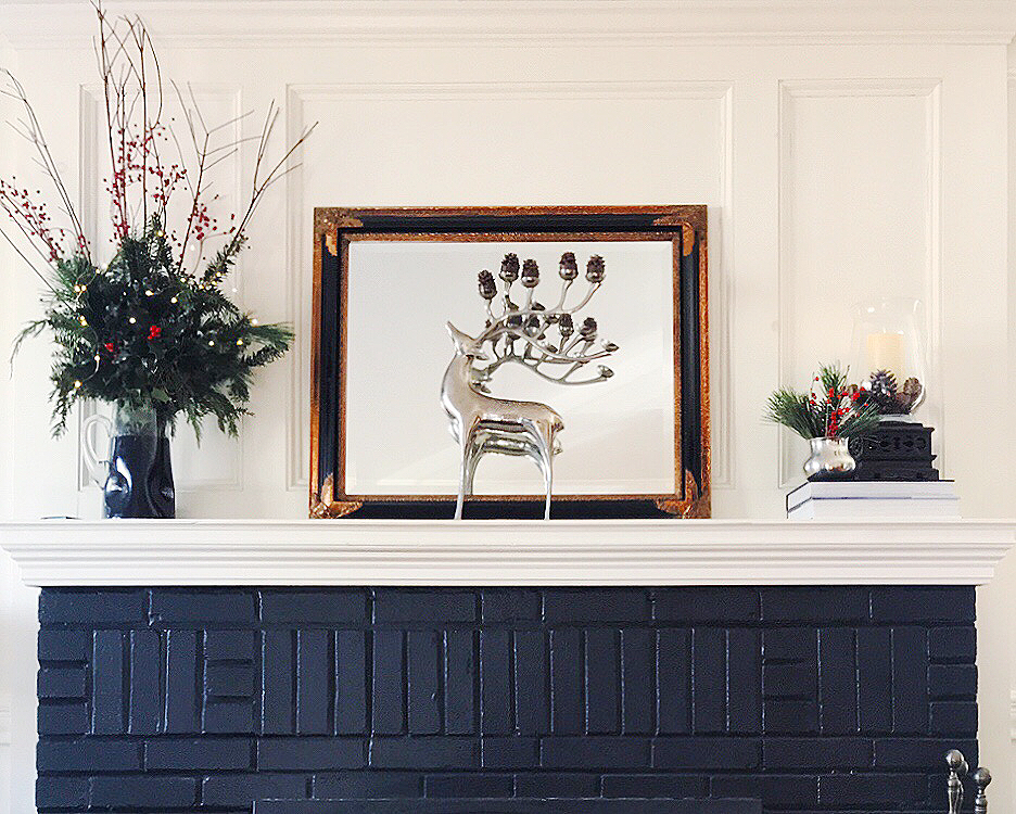 christmas mantel display