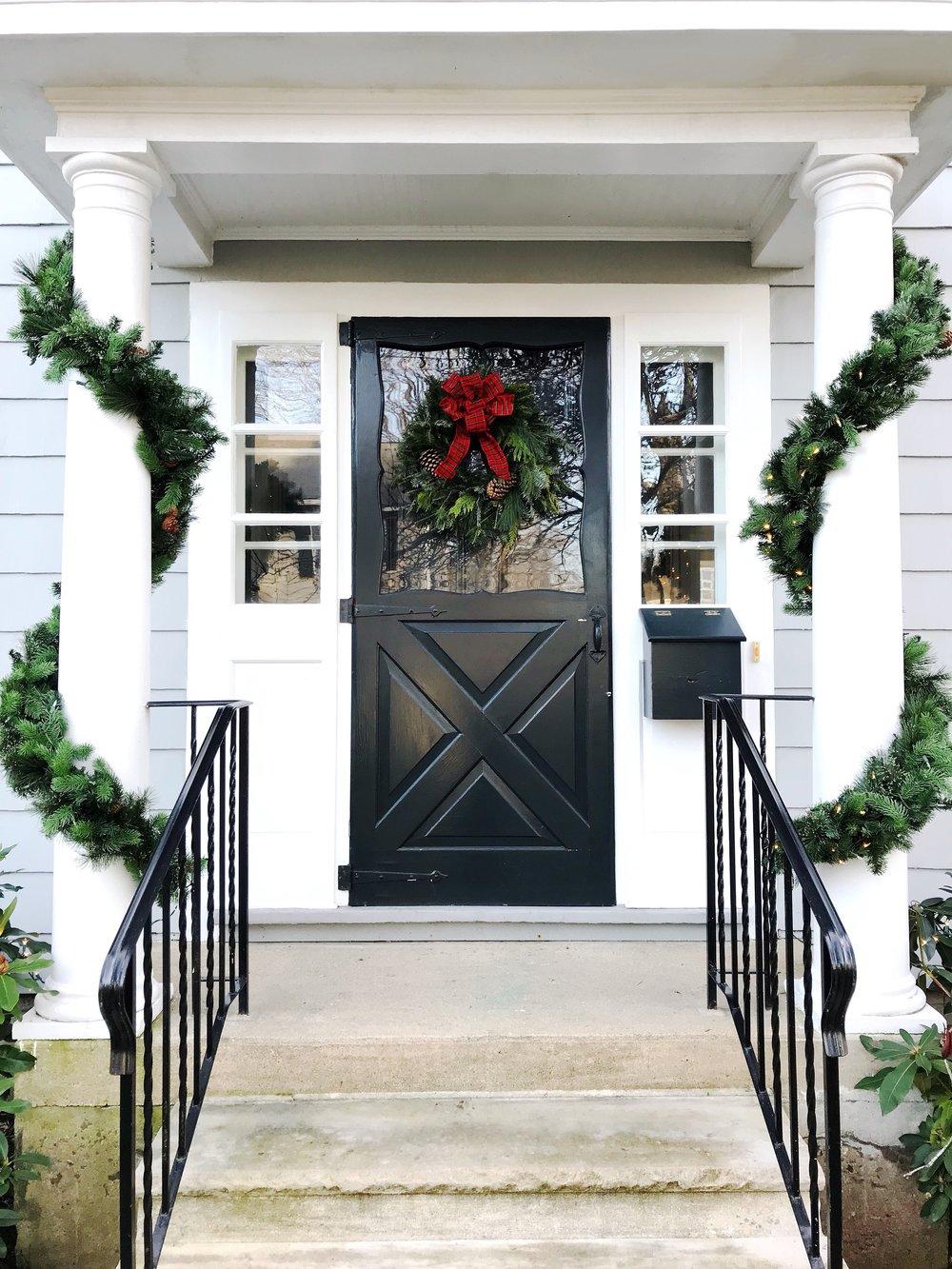 Classic Christmas Entrance